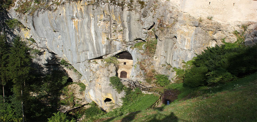 Prigioni del Castello di Predjama - Postumia