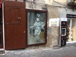 Madonna con Pistola. Banksy