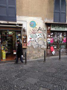 Street art a Napoli, Exitenter
