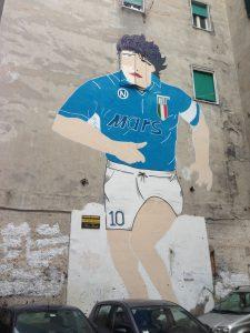 Murales Maradona, Quartieri Spagnoli - Napoli