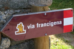 Via Francigena nel database dei Cammini in Europa