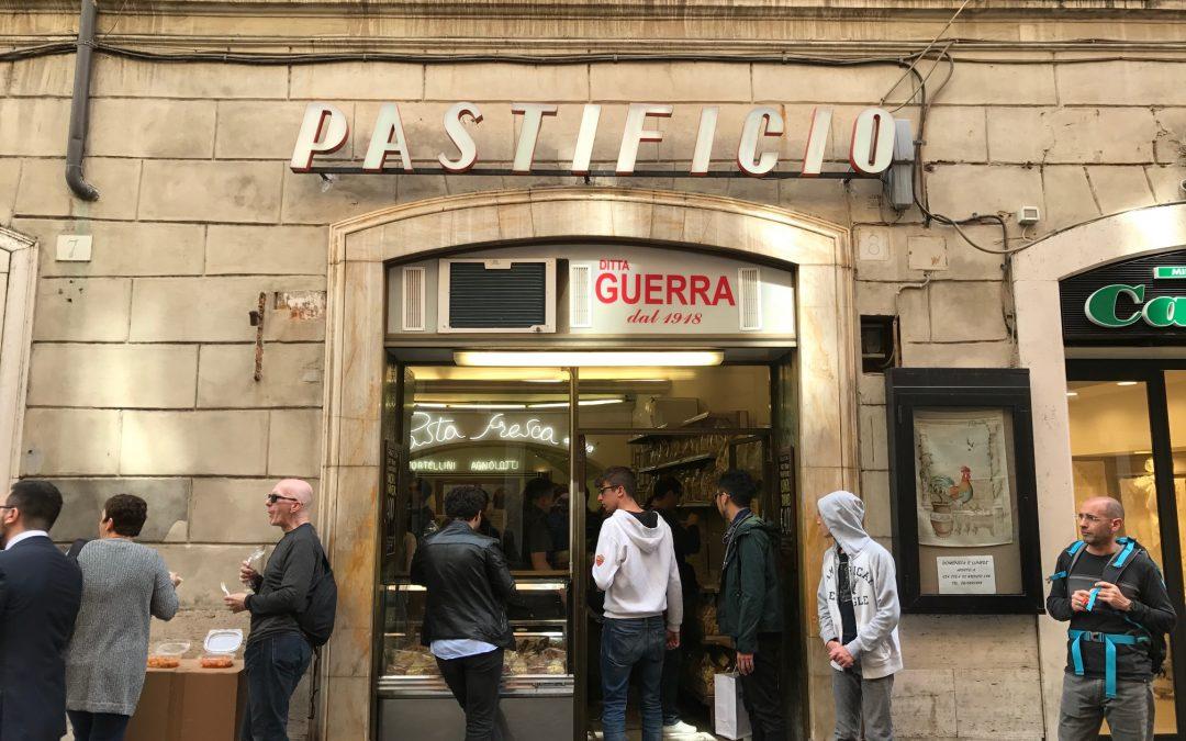 Mangiare a Roma, molto easy al Pastificio di Via della Croce