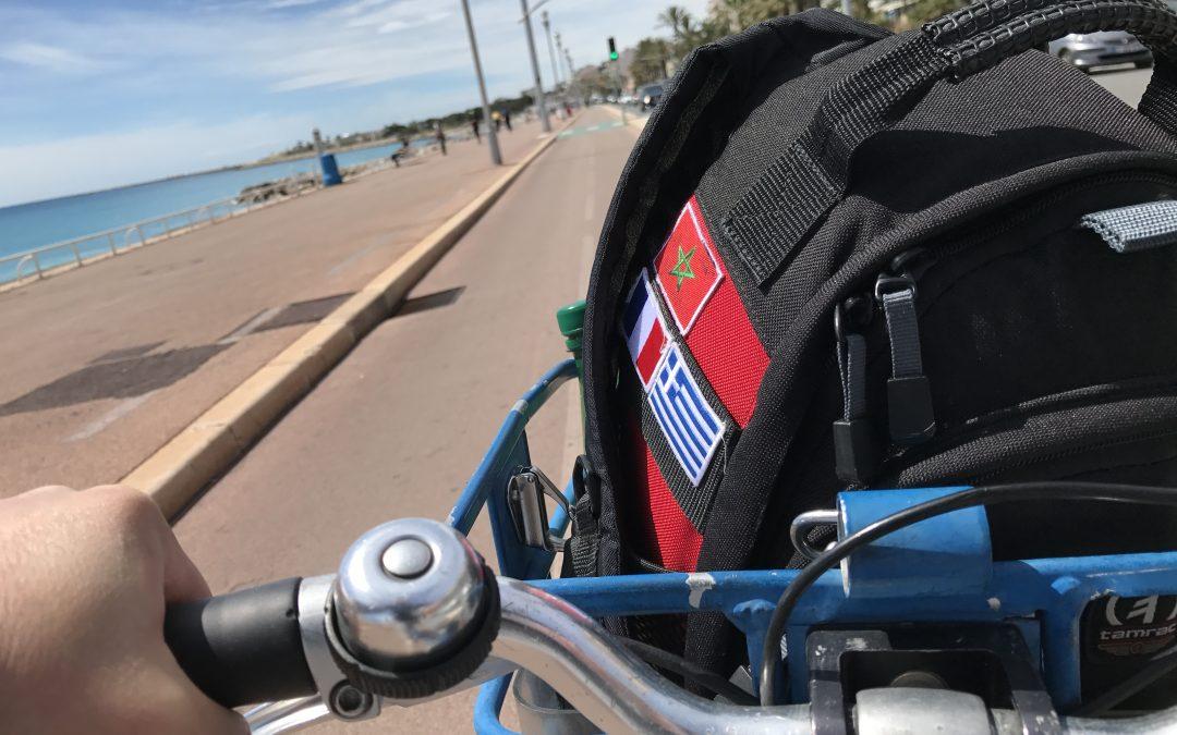 Bike sharing a Nizza con Velobleu