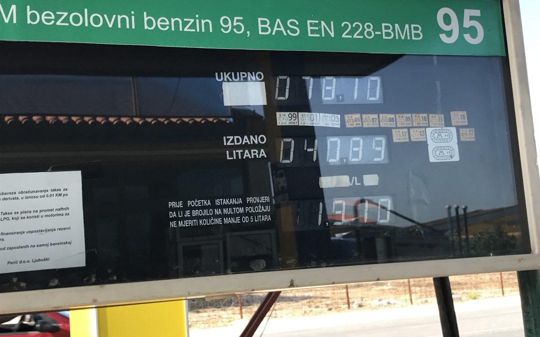 Prezzi della benzina in Bosnia, un alleato per il tuo viaggio on the road