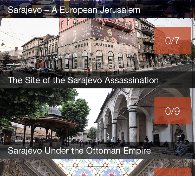Visitare Sarajevo in un'app