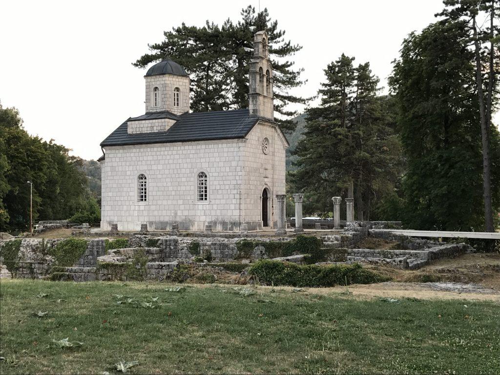 Chiesa Na Cipuru a Cetinje, Montenegro