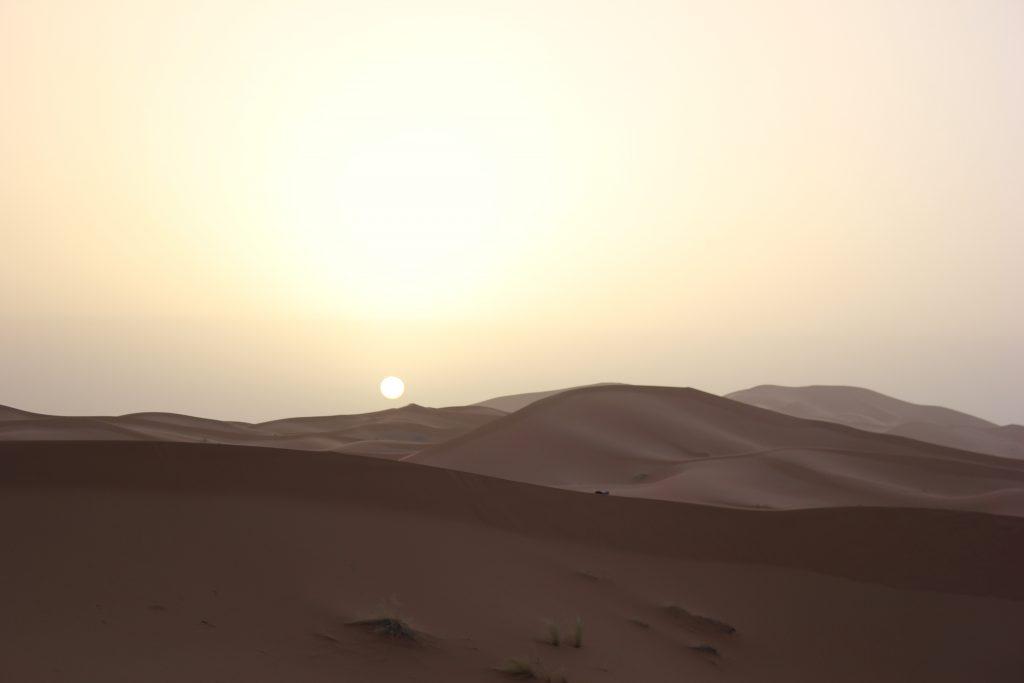Alba nel Sahara marocchino