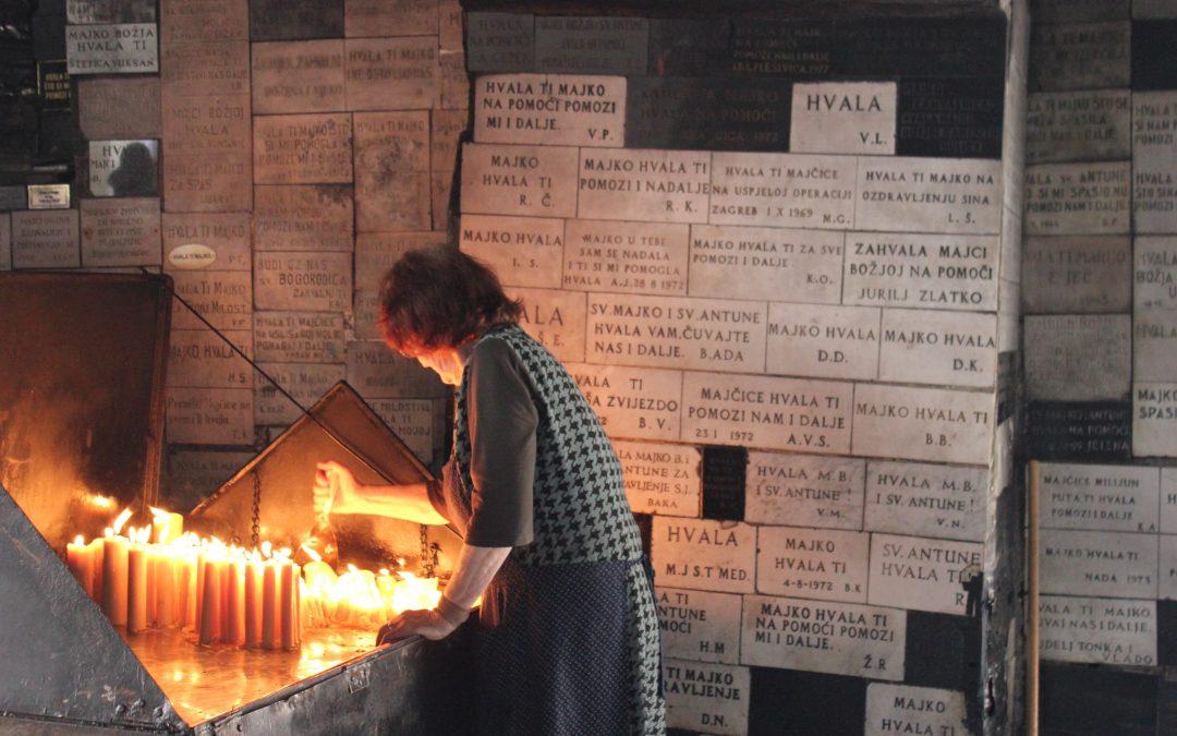 Zagabria, lo Stone Gate come Ex Voto universale – Foto
