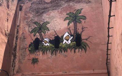 jace a Marrakech, la street art in Marocco
