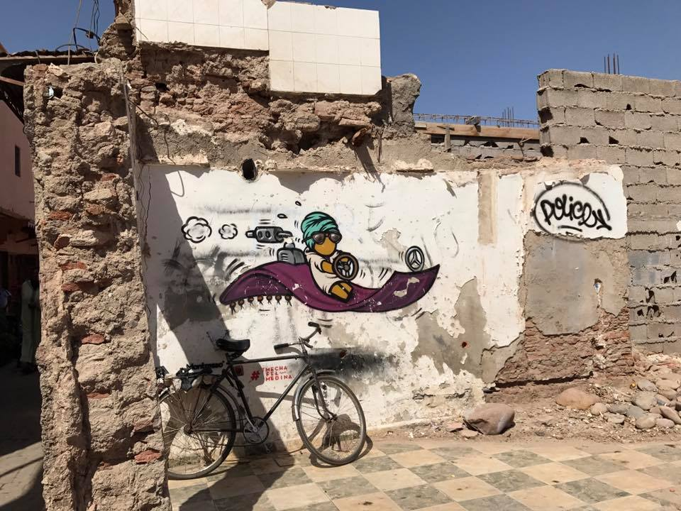 Jace in Marrakech