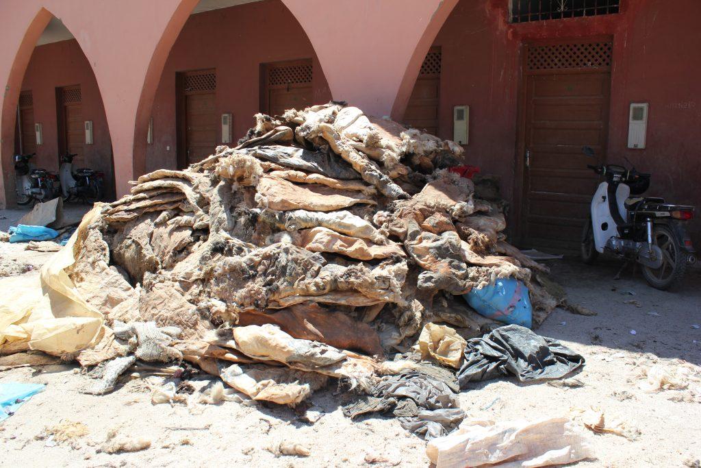 Il mercato delle pelli di Marrakech