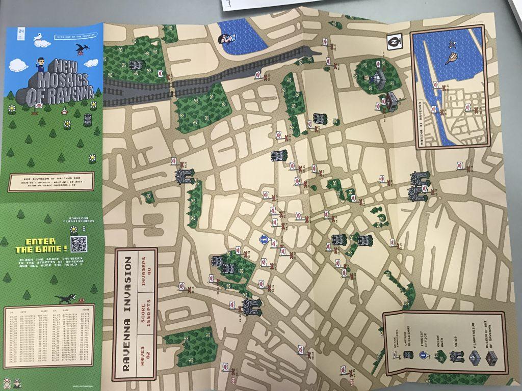 Invasion Map di Ravenna