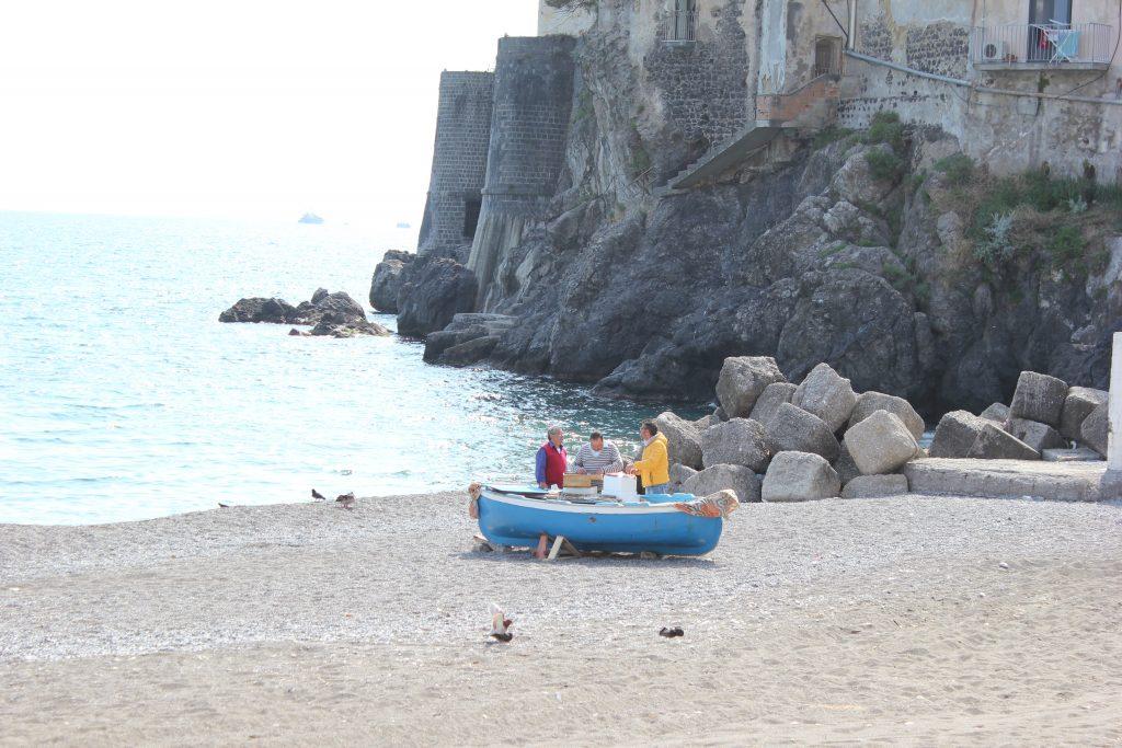 Pescatori ad Amalfi