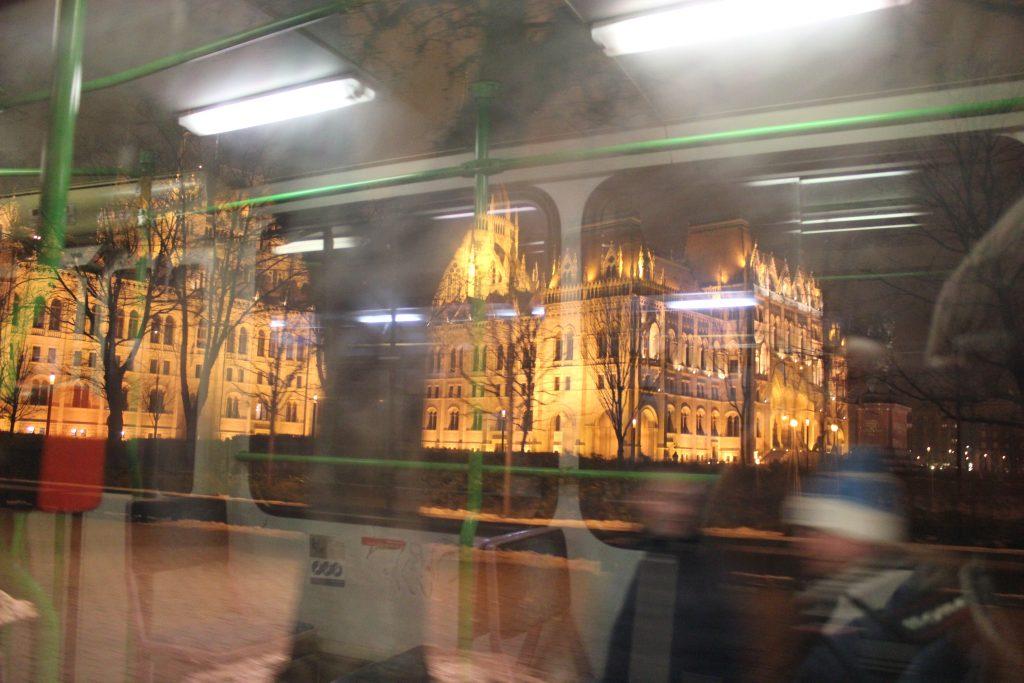 Il mitico tram numero 2 di Budapest