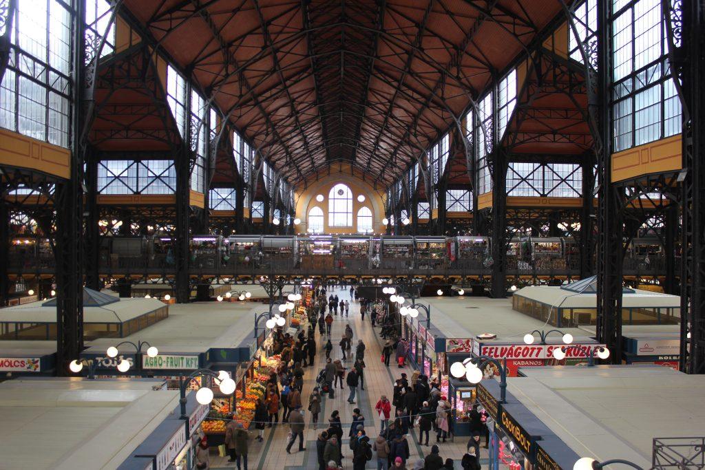 Mercato coperto centrale di Budapest